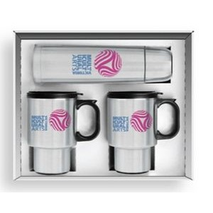 3 Piece Steel City Beverage Set w/½ Liter Thermos