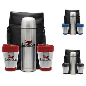 Three Piece Perfect Perk Thermos Gift Set
