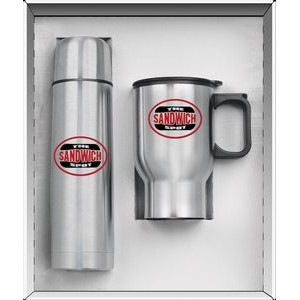 2 Piece Steel City Super Thermos Saver Set