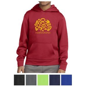 Sport-Tek® Youth Sport-Wick® Fleece Hooded Pullover